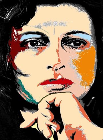 Image result for anna magnani illustration